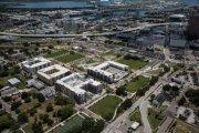 ENCORE! July 1, 2016 aerial photo, Tampa, Florida
