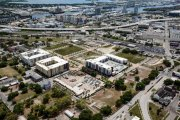 ENCORE! April 1, 2015 aerial photo, Tampa, Florida