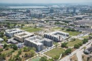 ENCORE! April 1, 2016 aerial photo, Tampa, Florida