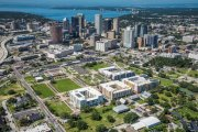 ENCORE! August 1, 2017 aerial photo, Tampa, Florida