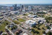 ENCORE! December 1, 2014 aerial photo, Tampa, Florida