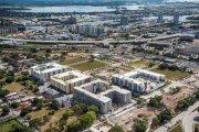 ENCORE! December 1, 2015 aerial photo, Tampa, Florida