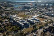 ENCORE! December 1, 2017 aerial photo, Tampa, Florida