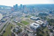 ENCORE! January 2, 2015 aerial photo, Tampa, Florida