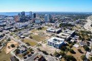 ENCORE! January 4, 2016 aerial photo, Tampa, Florida