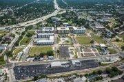 ENCORE! June 1, 2017 aerial photo, Tampa, Florida