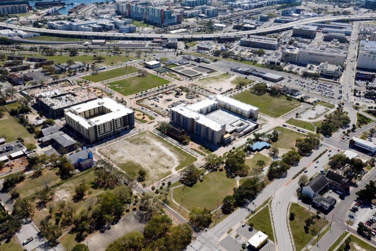 ENCORE! March 3, 2014 aerial photo, Tampa, Florida
