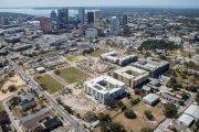 ENCORE! March 1, 2016 aerial photo, Tampa, Florida