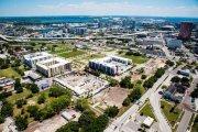 ENCORE! May 1, 2015 aerial photo, Tampa, Florida