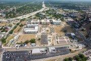 ENCORE! May 1, 2017 aerial photo, Tampa, Florida