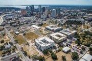 ENCORE! November 1, 2016 aerial photo, Tampa, Florida