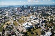 ENCORE! November 2, 2015 aerial photo, Tampa, Florida