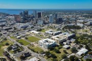 ENCORE! November 1, 2017 aerial photo, Tampa, Florida