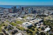 ENCORE! November 1, 2017 aerial photo, Tampa, Florida