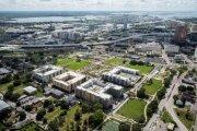 ENCORE! October 4, 2016 aerial photo, Tampa, Florida