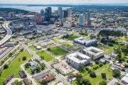 ENCORE! October 1, 2014 aerial photo, Tampa, Florida