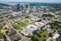 ENCORE! October 1, 2015 aerial photo, Tampa, Florida