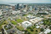 ENCORE! October 2, 2017 aerial photo, Tampa, Florida