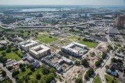 ENCORE! September 2, 2015 aerial photo, Tampa, Florida