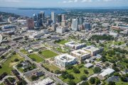 ENCORE! September 1, 2017 aerial photo, Tampa, Florida