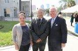 Tampa Mayor Bob Buckhorn Joins The Tempo at ENCORE! Groundbreaking, February 13, 2014