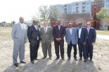 Tampans Gather for The Tempo at ENCORE! Groundbreaking, February 13, 2014