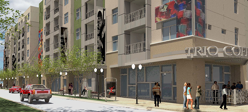 The Trio at ENCORE! Now Pre-leasing